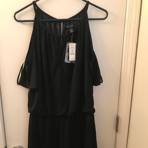 Black House White Market Cold Shoulder Dress